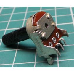 ALPS potentiometer 2k / N prům.13nn, drážk.hř.6x20mm