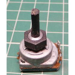 Potentiometer 25k ESA / G 16 mm diameter shaft 4x13mm
