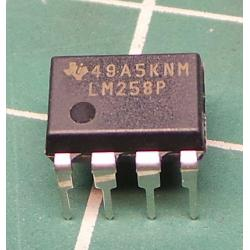 Operational amplifier, 700kHz, Channels: 2, DIP8