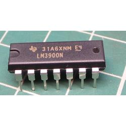 Operational amplifier, 2.5MHz, 3÷32VDC, Channels: 4, DIP14