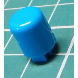 Button for microswitch, for 4x4mm mounts, Blue