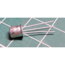 KSY62B transistor NPN 15V / 200 mA spinaci TO18
