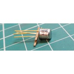 KF521, N Channel MOSFET, 20V, 0.1W, 0.01A, Rdsmax 150ohm, TO72