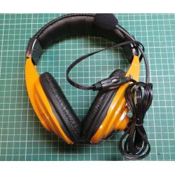 Headphones with microphone, SONIC HPCD-750Y