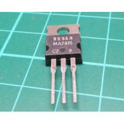 7815 stabilizer + 15V / 1.5A TO220 TESLA