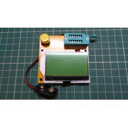 Component Tester, C (With ESR)/R/L,Transistor/FET/Diode