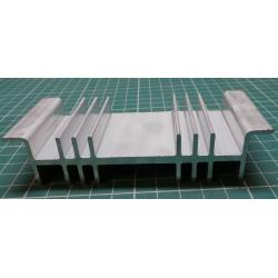 Heatsink, Alu, 115mm x 26mm x 50mm
