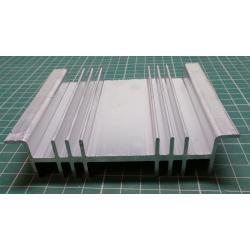 Heatsink, Alu, 115mm x 26mm x 100mm