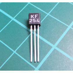 KF254 NPN, 20V, 30 mA, 250MHz TO92