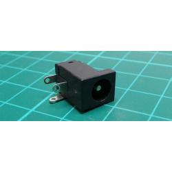 PSU Socket, Male, 2.1 mm, PCB mounting