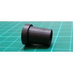 *New Photo - Knob, for 6mm Shaft, d 6.35mm, Ø14x18mm, black