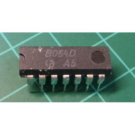 B064D (TL064 Clone) JFET operational amplifier, DIP14 - DSMCZ