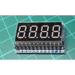 RED New 4 Bit 8 SEG LED Display Board Parallel Digital Tube Display Module New
