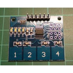 TTP224 4-way Capacitive Touch Switch Module Digital Touch Sensor For Arduino UU