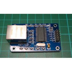 Ethernet Module For Arduino 51LPC AVR ARM PIC, ENC28J60