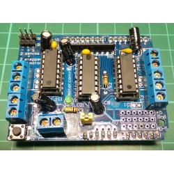 Practical Motor Drive Shield Expansion Board for Arduino Mega Duemilanove