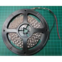 LED reel 8mmx5m, Red, 60xLEDs/m, IP20