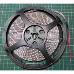 LED reel 8mmx5m, Warm White, 60xLEDs/m, IP65, Waterproof