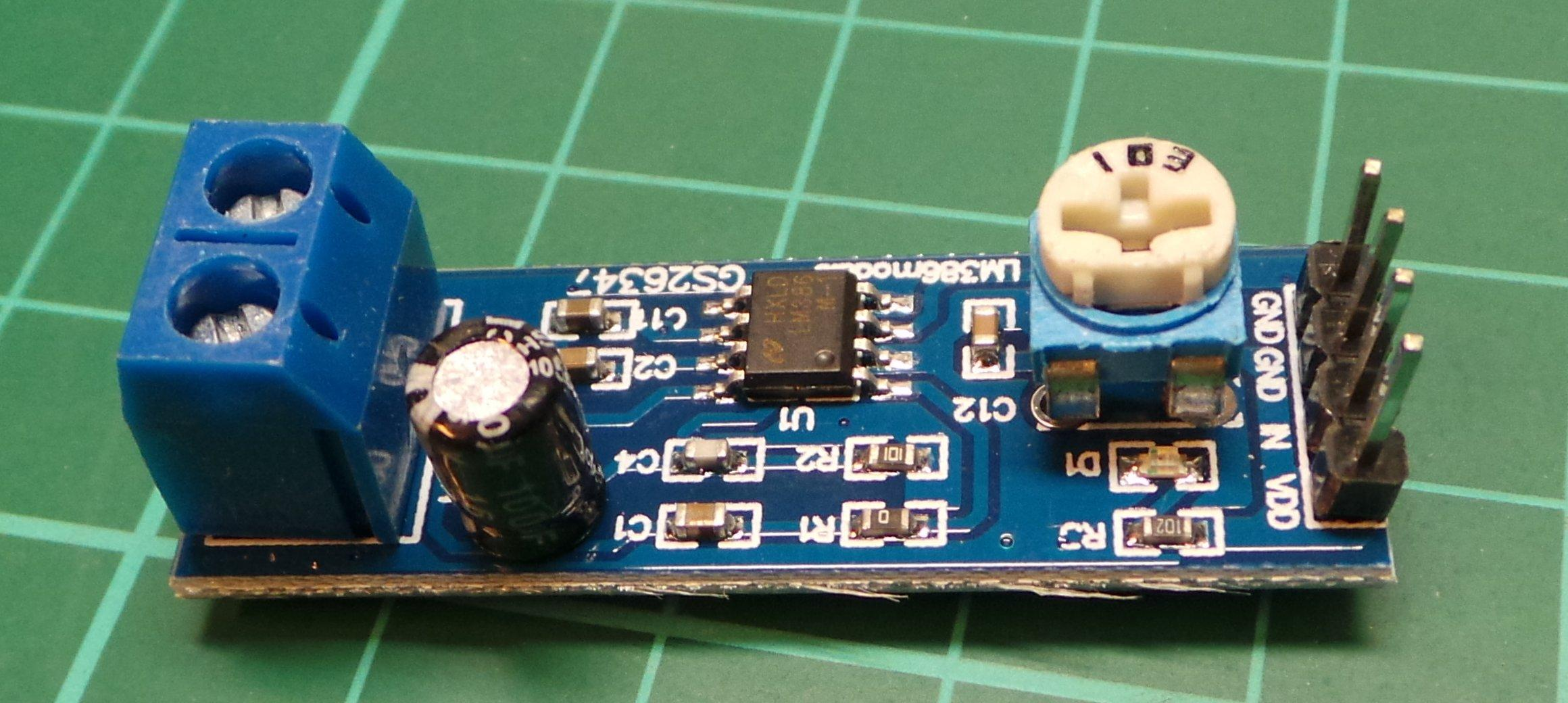 Lm386 Audio Amplifier Module Dsmcz Stereo Circuit