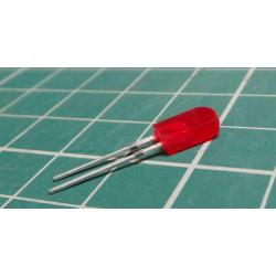 2,5x5mm LED red diffuse LQ1232