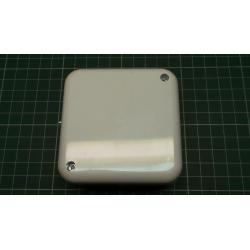 Electrical Wallbox, 80x80x35mm, White