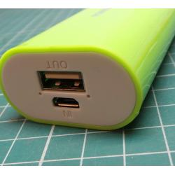 USB Powerbank, 5200mAh