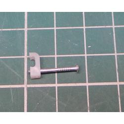Nail in Clip, for 1*4mm flat cable
