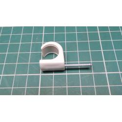 Nail in Clip, for 12mm round cable