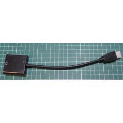 HDMI Male Input to VGA Female Output, Video Converter