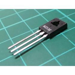 KD136, PNP Transistor, 45V, 1.5A, 12.5W, TO126