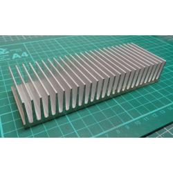 Heatsink, Alu, 150x50x27mm