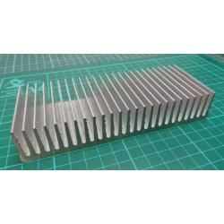 Heatsink, Alu, 150x60x27mm