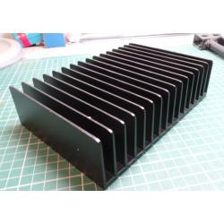 Heatsink, Black, 180x132x50mm