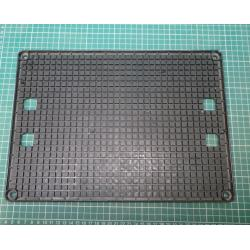 USED GOODS - ESD, PCB Board Holder, Conductive Plastic, 19 x 13 Slots