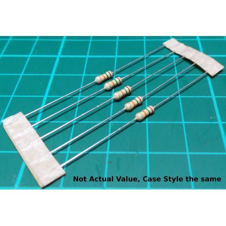 Resistor, 33R, 5%, 0.25W