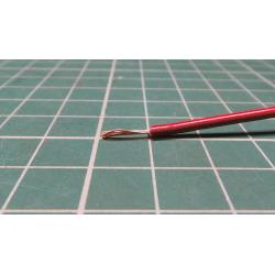 22AWG, 0.5 mm2, Stranded, PVC, 105°, Brown/Red