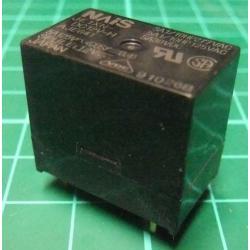 Relay, SPDT, 12V, 125V-5A