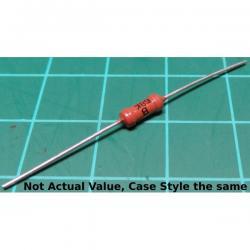 Resistor, 560K, 5%, 0.25W, red