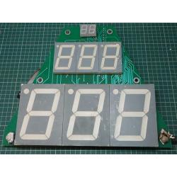 Used LED Display, Roughly 34cmx30cm