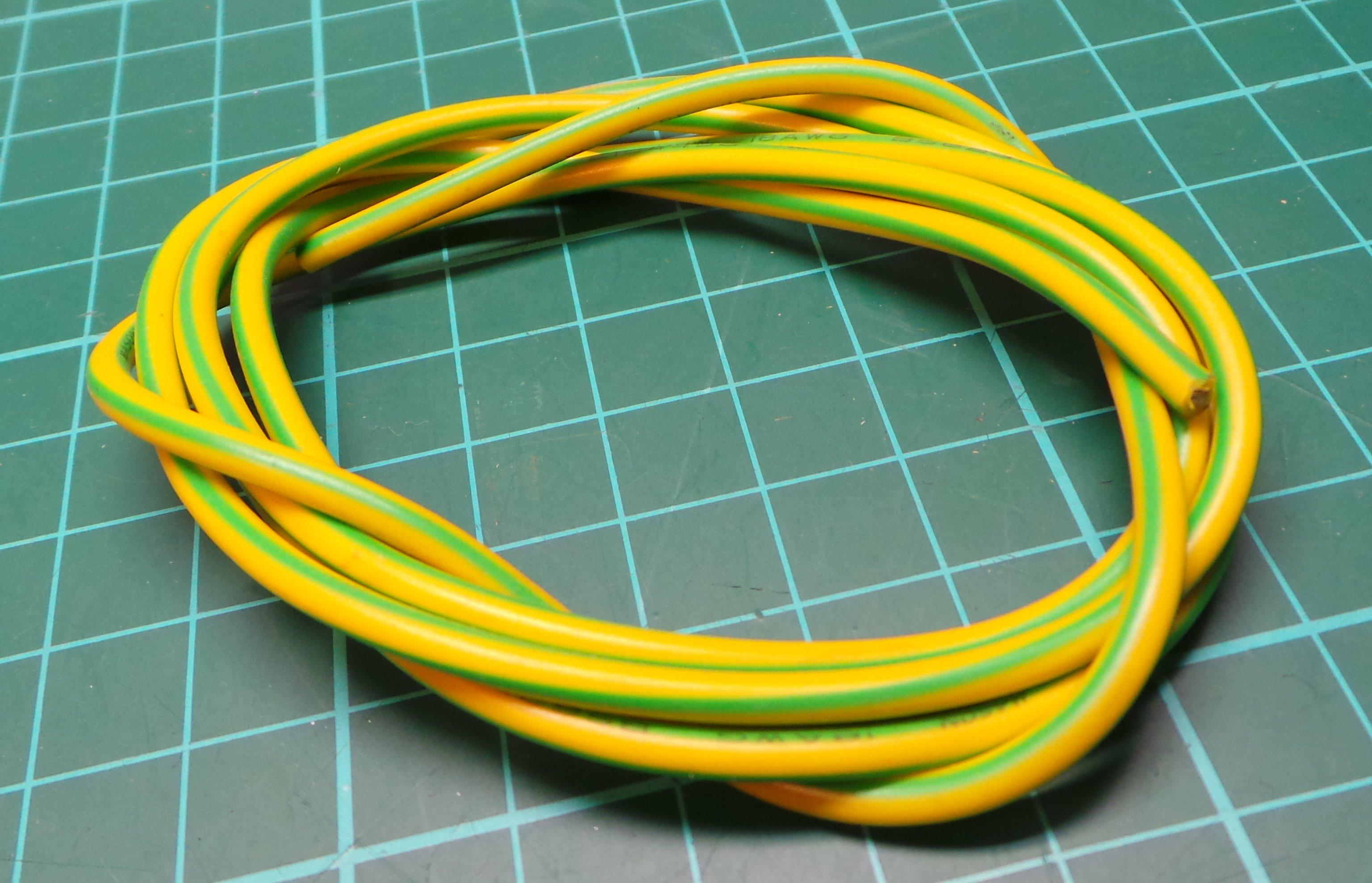Earth Wire, 1.2m length, one end has ring terminal - DSMCZ
