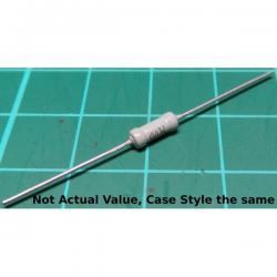 Resistor, 2M2, 5%, 0.25W, grey