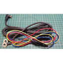 Car Power Supply Cable, 3m, 4 core