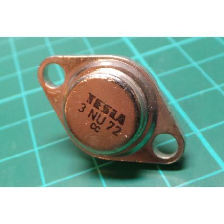 3NU72, NPN Transistor, Germanium, 32V, 1.5A, 4W
