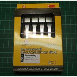 Screwdriver Set, 5xPhillips/Pozi 1-4, 0-3, 00, 0, 1