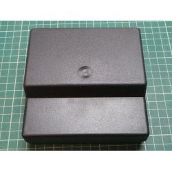 Enclosure: desktop, X:125mm, Y:120mm, Z:53mm, polystyrene, black