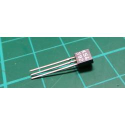 KS4392, N Channel FET, 40V, 0.05A, 0.3W, TO92