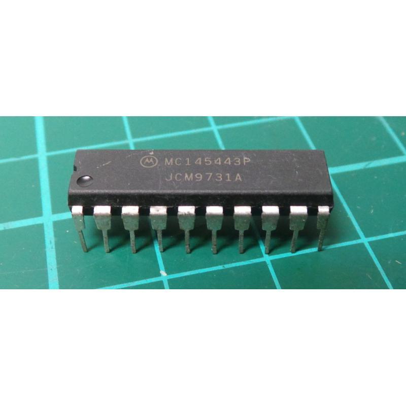 Mc145443p 300 Baud Modem Ic Dsmcz