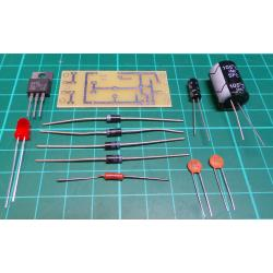 Source stabilized 12V / 1A 52x22mm KITS