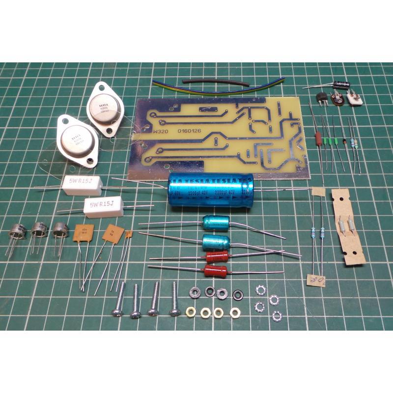 Retro 10W Hifi Amp Kit (1972 Design)