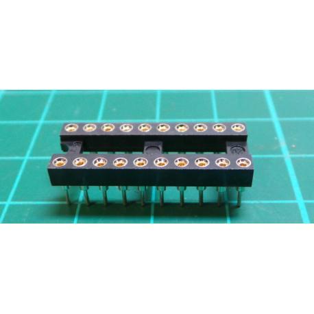 DIL20PZ patice precizní 7,62mm RM 2,54mm